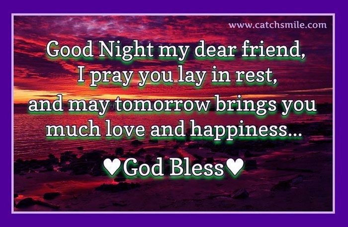 Image result for good night dear friend