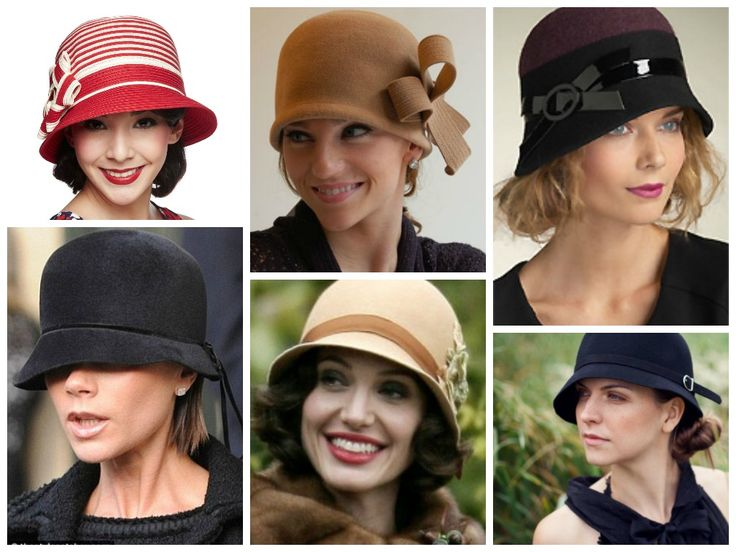 Clic Hats With Short Hair