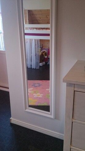 Spegel matta prinsessa flickrum