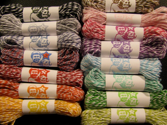 15 yards of 15 colors! $26.95 (FREE SHIPPING) including  #DivineTwine's red, white + blue!: 15 Yards, Craft, Colors Free, 26 95, Bakers Twine, 15 Colors