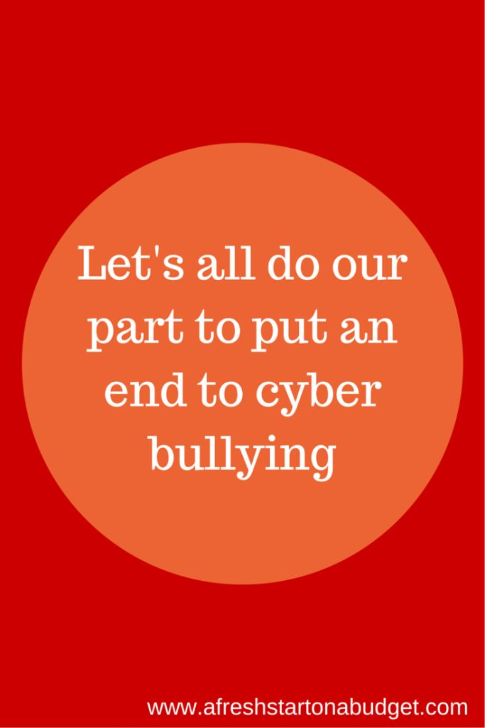 cyberbullying the fight to end Etcb (end to cyber bullying) organization, new york, new york  i am  representing the peacefirst challenge that helps young people in the us fight  for their.