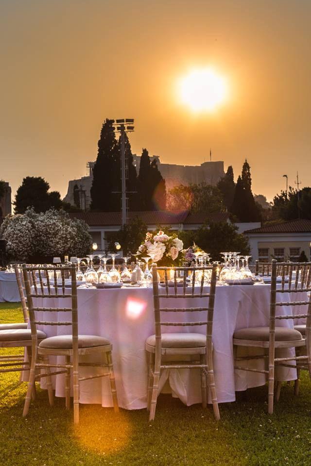 Γάμος με θέα την Ακρόπολη στον Εθνικό Γυμναστικό!