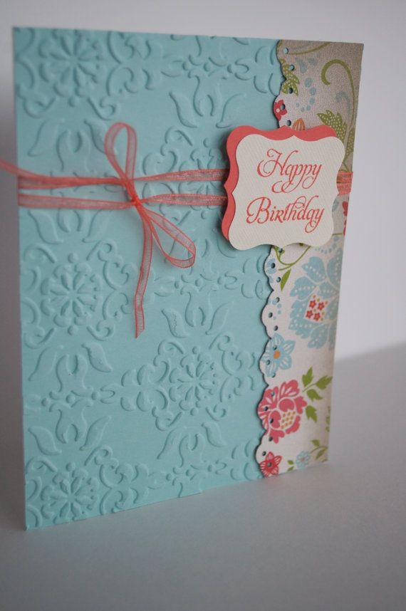 Handmade Card Stampin Up card Birthday Card by jillysstampinstudio