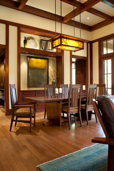 62 Best Arts Crafts Interiors Images On Pinterest Craftsman Interior Bungalows And