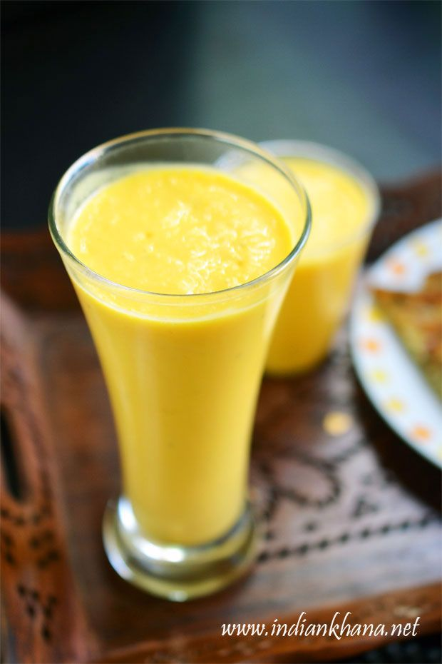 Easy, delicious mango milkshake, a great way to use mango.  This smoothie works great as a beverages or quick snack too.
