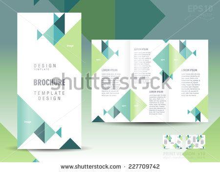 73 Best Trifold Brochure Images On Pinterest Brochures Brochure