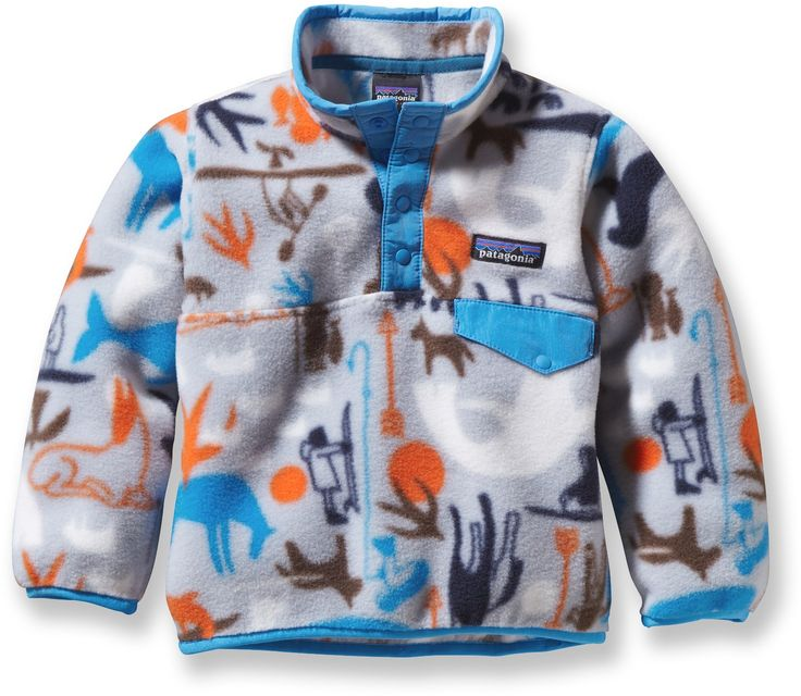 Patagonia Male Baby Synchilla Snap-T Fleece Pullover - Infant/Toddler Boys'