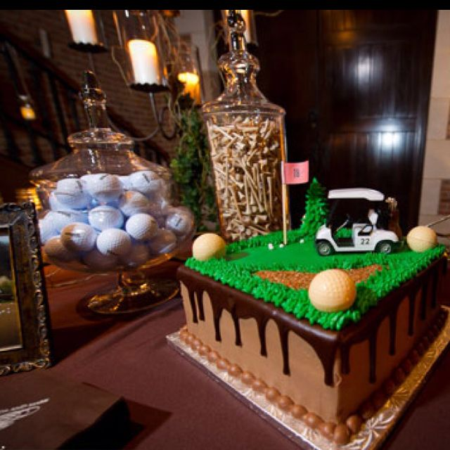 Grooms cake- Golf Theme Cake