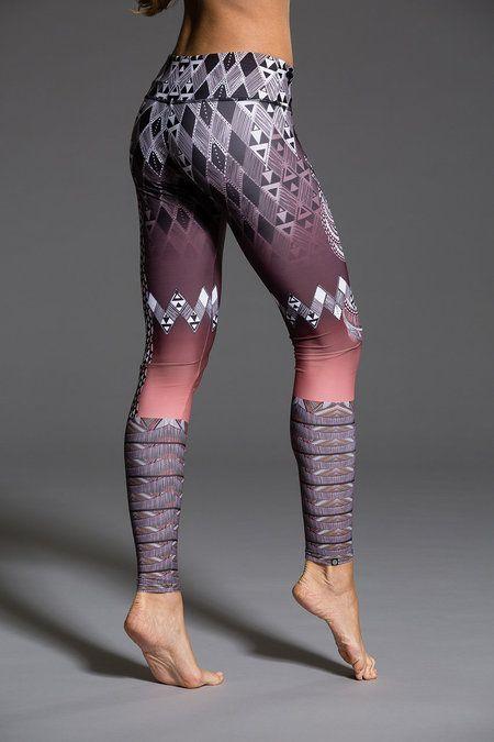Onzie - Graphic Legging - Tanzania: Women's Workout clothes | Gym Clothes | Yoga Clothes | Shop @ FitnessApparelExpress.com