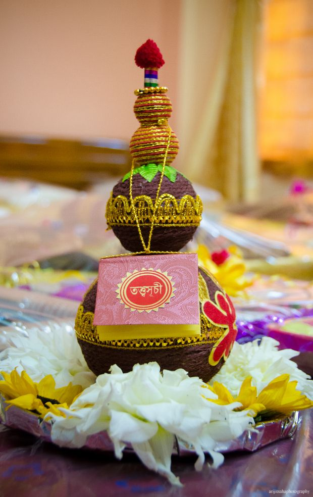 I was talking to my brother-in-law the other day , and he was kind of confused about the whole tatta giving thing. And I thought I should write a post on Tatta for all non-bengalis getting married ...