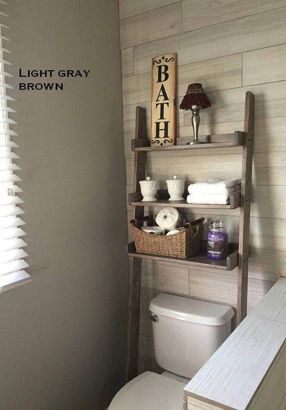19+ Primitive over the toilet cabinet diy