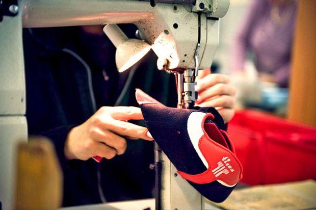 Making of Tisza Shoe.  Hungarian Design Store, Boxpark, London 1 July - 31 Aug, 2013 https://www.facebook.com/HungarianDesignInLondon