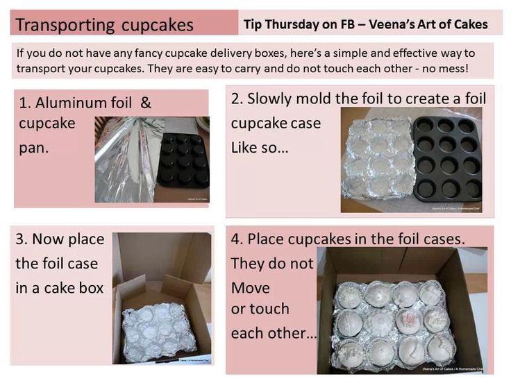 Cupcake tray DIY