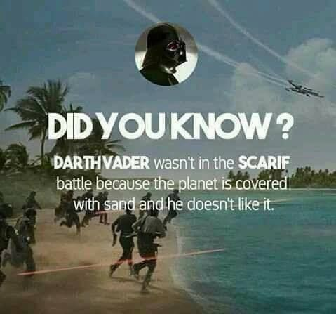 For some reason, this is hilarious!  -Anakin hates sand- #sw #hilarious #truth