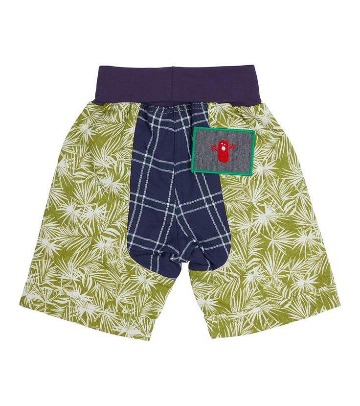 Jungle Fever Short - Big, Oishi-m Clothing for kids, Spring  2017, www.oishi-m.com
