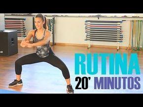 Rutina ejercicios para tonificar el cuerpo y perder peso. ¡Sólo 20 minutos!