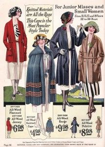1920's coats and capes for teens and small women http://www.vintagedancer.com/1920s/teenage-girls-fashion-in-the-1920s/