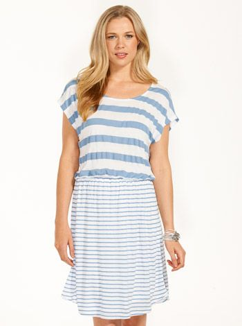 Striped Tennis Dress from Just Jeans