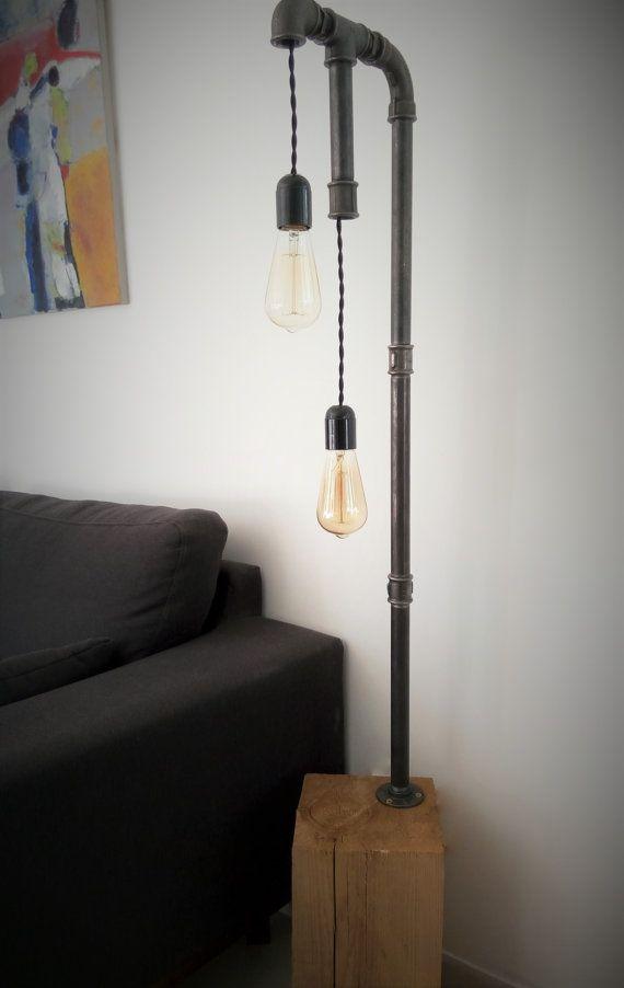 Les 25 meilleures id es concernant pied de lampe sur - Lampe sur pied salon ...