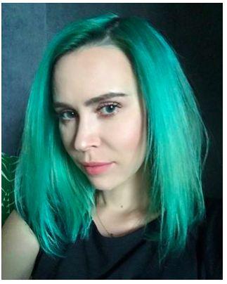 Manic Panic color, włosy