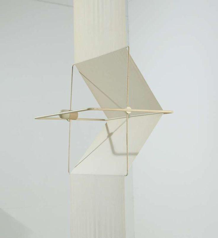 "Rare ""Quinta"" lamp and room divider by Silvio Coppola, Artemide, Italy, 1970s 6"