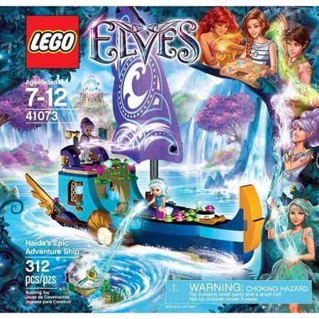 LEGO Elves Naida's Epic Adventure Ship 41073