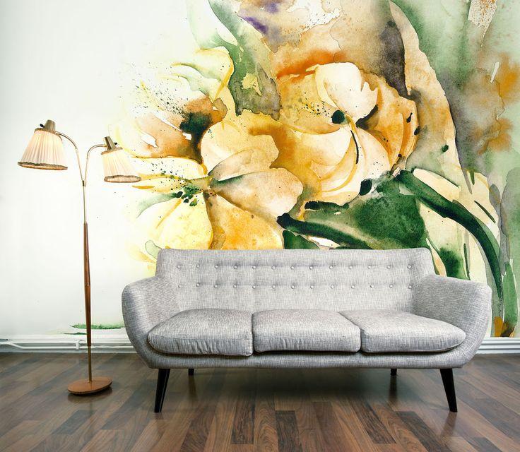 Цветочные мотивы в росписи на стенах освежают любой унылый интерьер. Такие росписи замечательно впишутся в кухню или гостиную. Роспись цветами можно гармонично сочетать с цветовыми акцентами мебели.  Осуществляю роспись стен в интерьерах акрилом быстро и недорого. Обращайтесь, звоните, пишите. 7-911-924-39-14 vib/wtsapp/директ belkastyle.ru #росписьстен #художественнаяросписьстен #рисунок #цветы #настеннаяроспись #оформлениестен #декоркухни #декор #декоргостиной #росписьстенспб #спб…