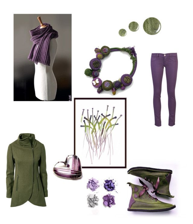 """""""Crocus"""" by foldi-knit ❤ liked on Polyvore featuring Pimpernel, Benefit, Gestuz, MiH Jeans and Topshop"""