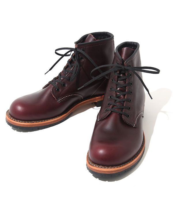 RED WING ROUND-TOE BECKMAN BOOTS STYLE NO.9011