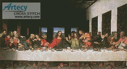 Last Supper Counted Cross Stitch Pattern http://www.artecyshop.com/index.php?main_page=product_info&cPath=65&products_id=1389