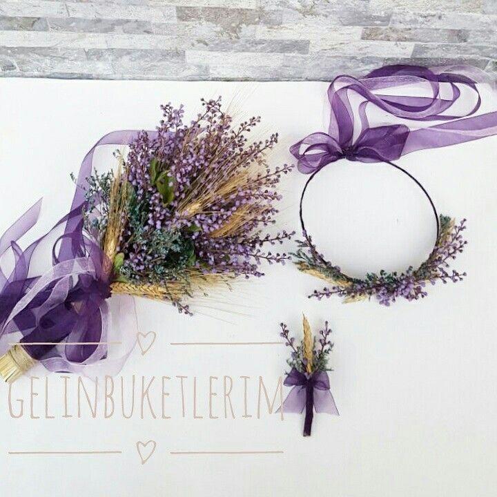 Kuru çiçekli set modelimiz www.gelinbuketleri.com İletişim 05453768273den ulaşabilirsiniz