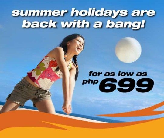 Seat Sale Alert TigerAirways Philippines Promo Fares for Summer for as Low as P699.  TigerAirways Philippines Promo Fares to Summer destinations are back!  Fly from Clark, Manila or Cebu to you favorite summer destinations for as low as P699 for April 1 to May 31, 2013 travel.  http://tigerairways.ph/tigerairways-philippines-promo-fares/