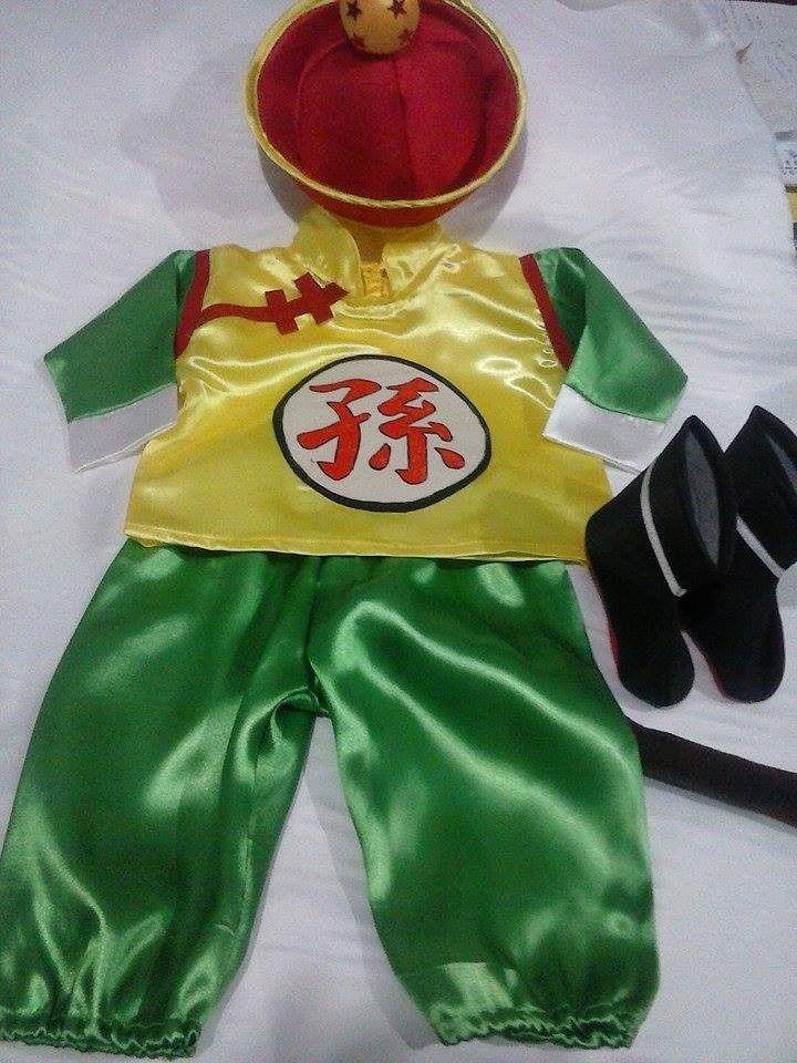 Disfraz De Gohan Bebé Niño Dragón Ball - $ 390,00 en MercadoLibre