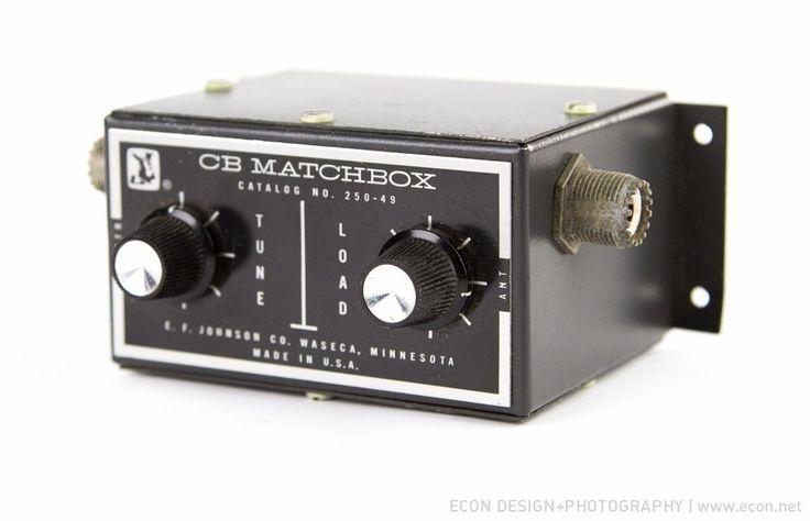 E. F. JOHNSON CB MATCHBOX 250-49 ANTENNA TUNER for CB ...