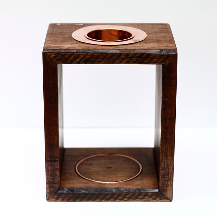 Handcrafted Coffee Pour Over Station  https://www.etsy.com/shop/ConductorStations