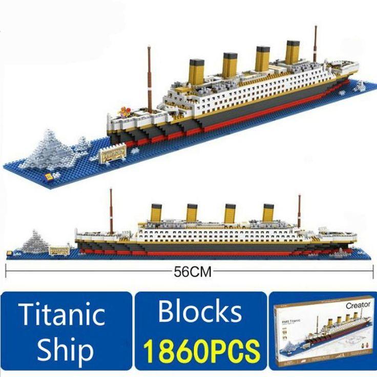Titanic Cruise Ship 1860 pcs Building Blocks
