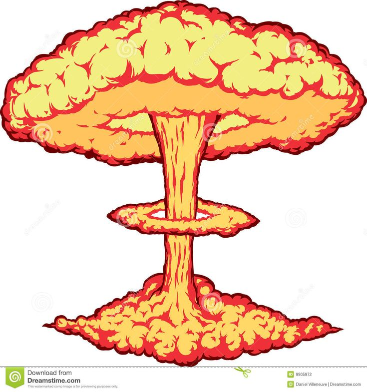 Images For > Nuclear Bomb Explosion Drawing