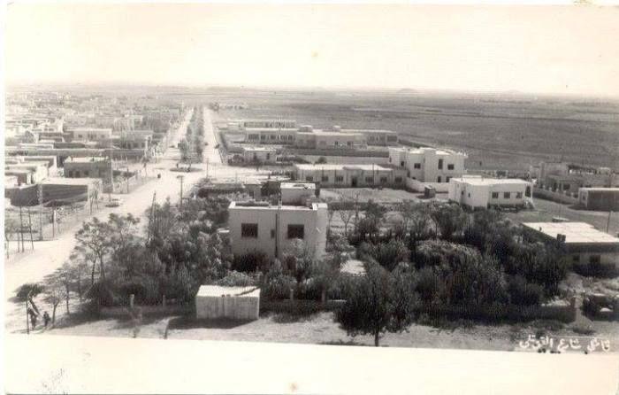 شارع القوتلي 1951 - قامشلي