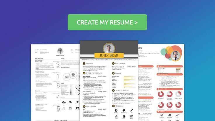 kickresume online resume builder