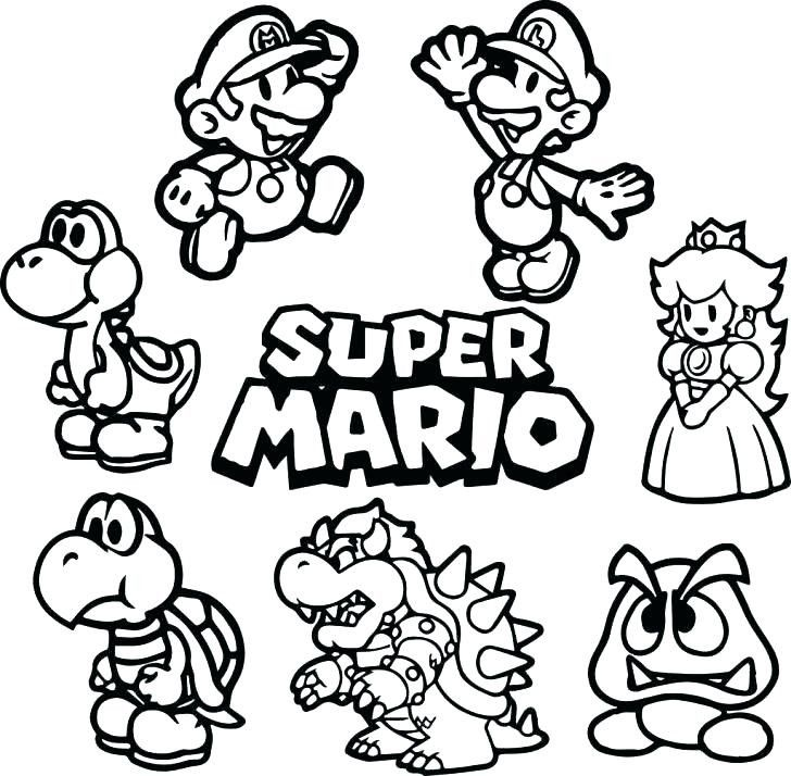 Pin By Shysation On Drawing Super Mario Coloring Pages Mario Coloring Pages Super Coloring Pages