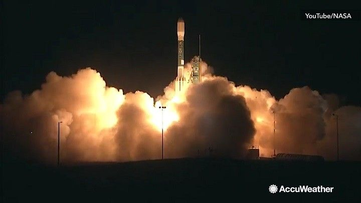 The JPSS-1 satellite launched successfully from Vandenberg Air Force Base in California at 4:47 AM ET on Nov. 18.  The satellite is designed to help improve weather forecasting in the United States.