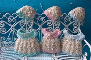 Dollhouses: Irene dress crochet pattern