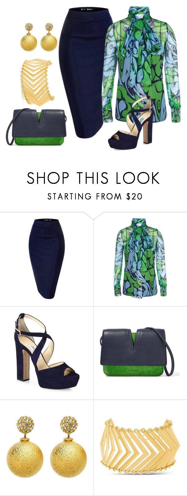 """""""MY SPACE"""" by polishedplus ❤ liked on Polyvore featuring Miu Miu, Jimmy Choo, Jil Sander and Steve Madden"""