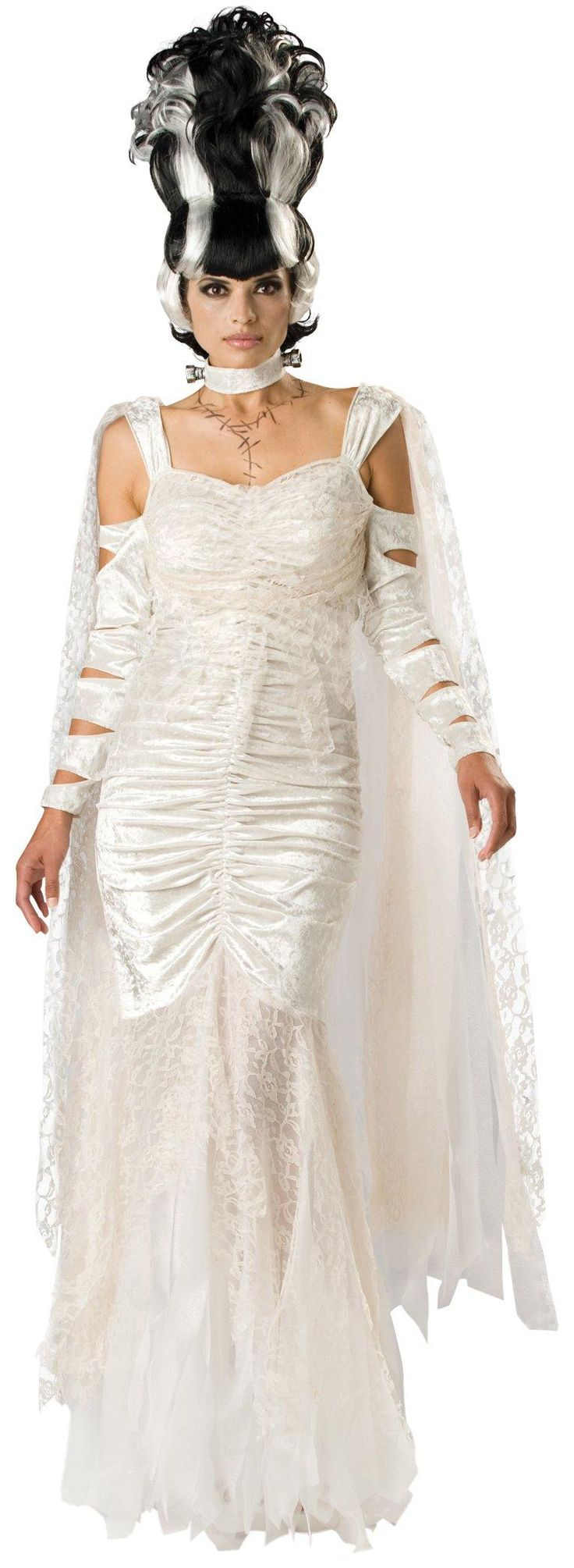 Home gt gt cleopatra costumes gt gt jewel of the nile egyptian adult - Bride Of Frankenstein Elite Adult Costume
