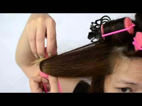 Want to learn how to curl your hair with foam rollers? Check out this step-by-step video guide!