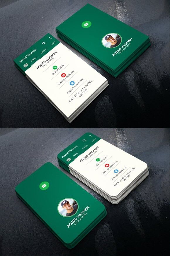 Whatsapp Business Card Business Cards Creative Graphic Design Business Card Marketing Business Card