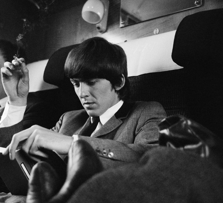 George Harrison 1964 By Astrid Kircherr