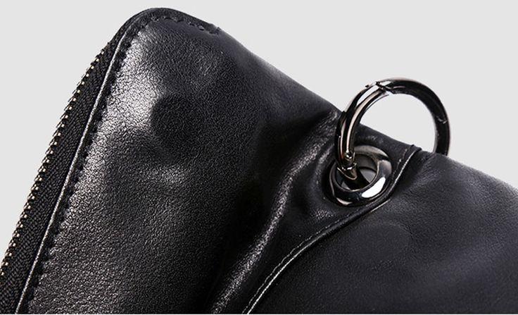 Черная мягкая гладкая кожа сумка