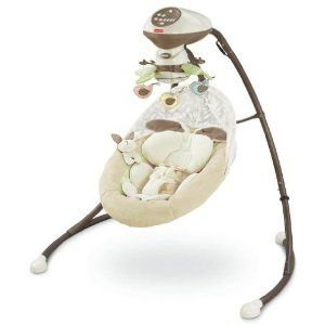 So sweet. Fisher-Price My Little Snugabunny Cradle 'n Swing