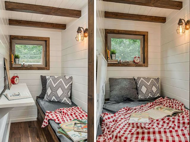 tiny house bedroom. The Cedar Mountain from New Frontier Tiny Homes of Nashville  Tennessee A luxury cabin style tiny house with two bedrooms 515 best House Ground Floor Bedroom images on Pinterest